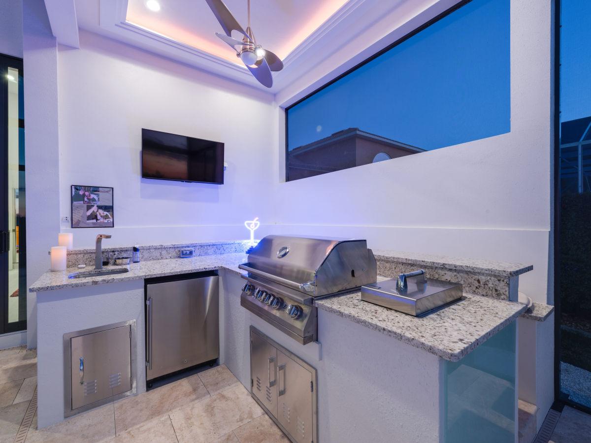 Außenküche Mit Gasgrill : Edelstahl gasgrill außenküche brenner grillchef grillen