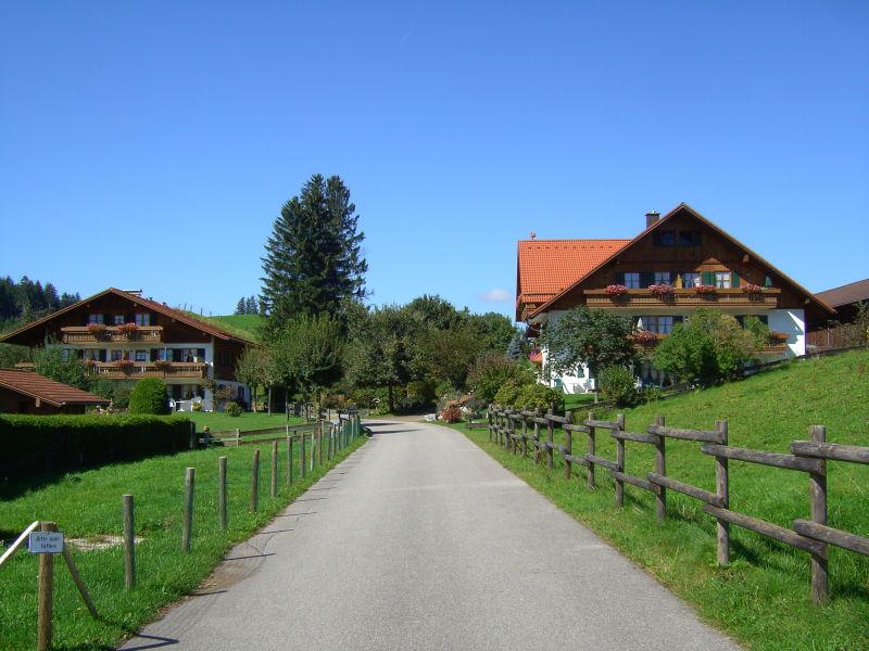 Ferienwohnung Straußberg im Ferienhof AllgäuMax