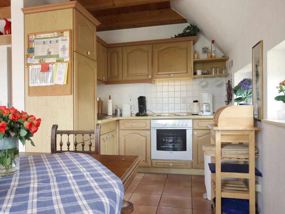 Offene kuche zum wohnzimmer ferienwohnung haus fanoe - Wohnzimmer offene kuche ...