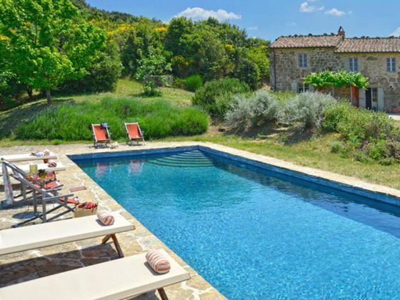Ferienhaus charmantes steinhaus in alleinlage mit panoramablick offener garten salzwasser pool - Pool salzwasser ...