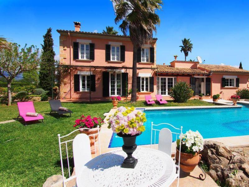 Romantische Luxus Finca im Weingebiet mit Pool Lounge, Fitnessbereich, Sauna