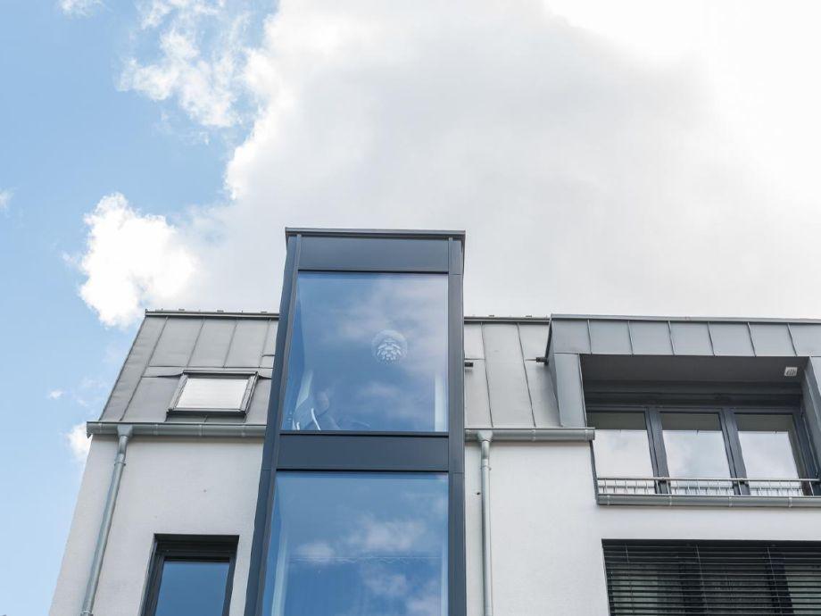 Außenaufnahme Penthousesuite Trier