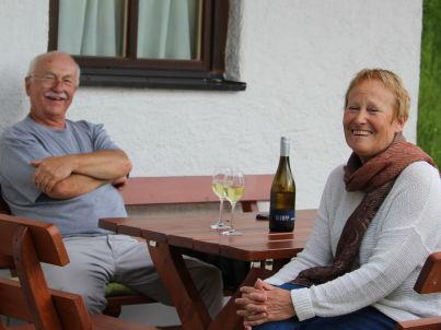 Ihr Gastgeber Marianne und Edgar Klumpp