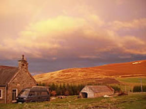 Ferienhaus auf Waldlichtung im Herzen von Schottland