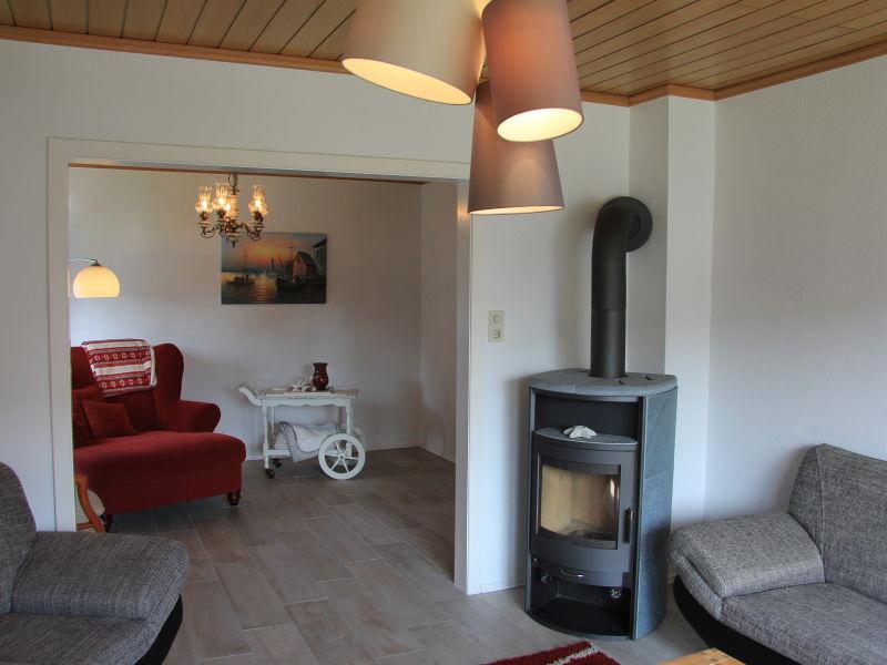 Ferienhaus Nordsee mit Kamin