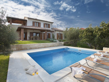 Villa Maria with seaview