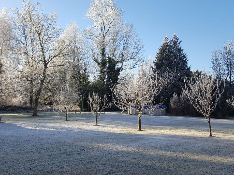 Ferienhaus ancienne epicerie normandie familie for Garten pool im winter