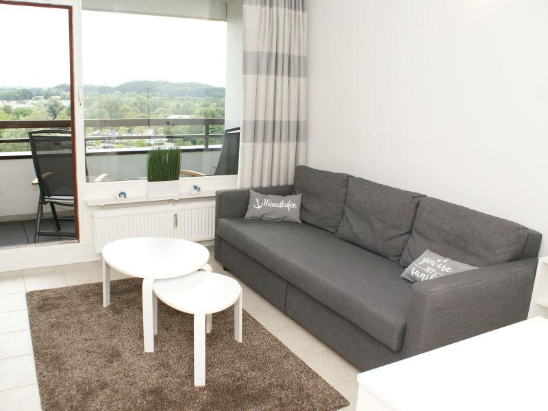Ferienwohnung Penthousewohnung  W-LAN 2 x Schlafzimmer  2 x Balkone