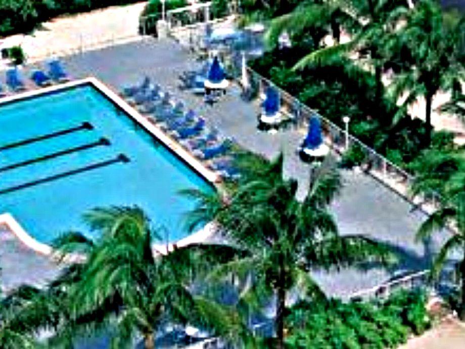 Ocean Pointe's heated pool