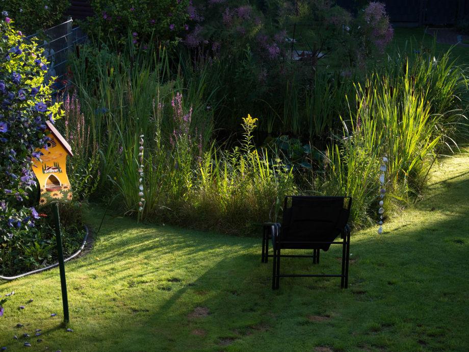 Garten-Morgenstimmung