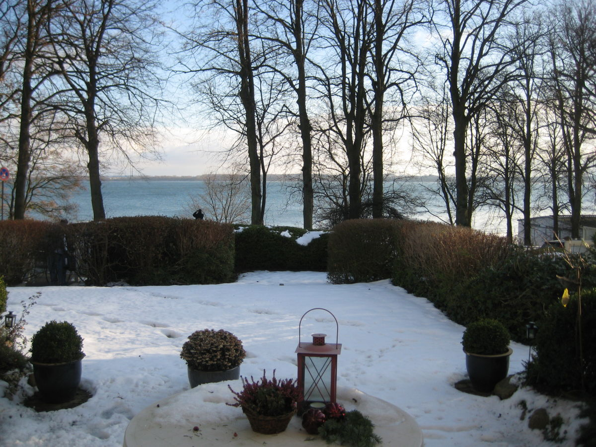 Ferienwohnung helldahl l beckecker bucht frau dorothea link - Garten im winter ...