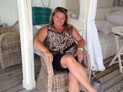 Your host Margit Fuhrmann