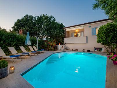 Lidija with pool