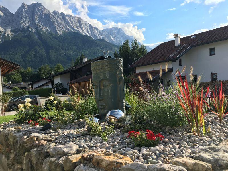 Alpenperle-Das Ferienhaus unter der Zugspitze