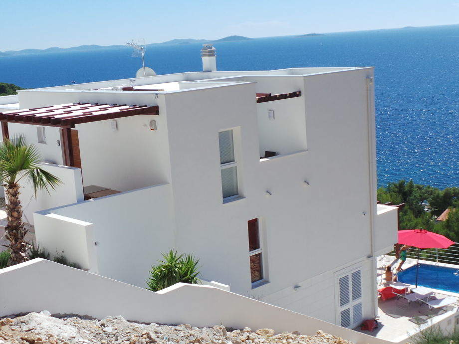Außenaufnahme Casa Slanica (Panorama-Villa Murter)