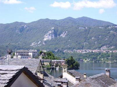 Bellavista mit Seeblick am malerischen Ortasee