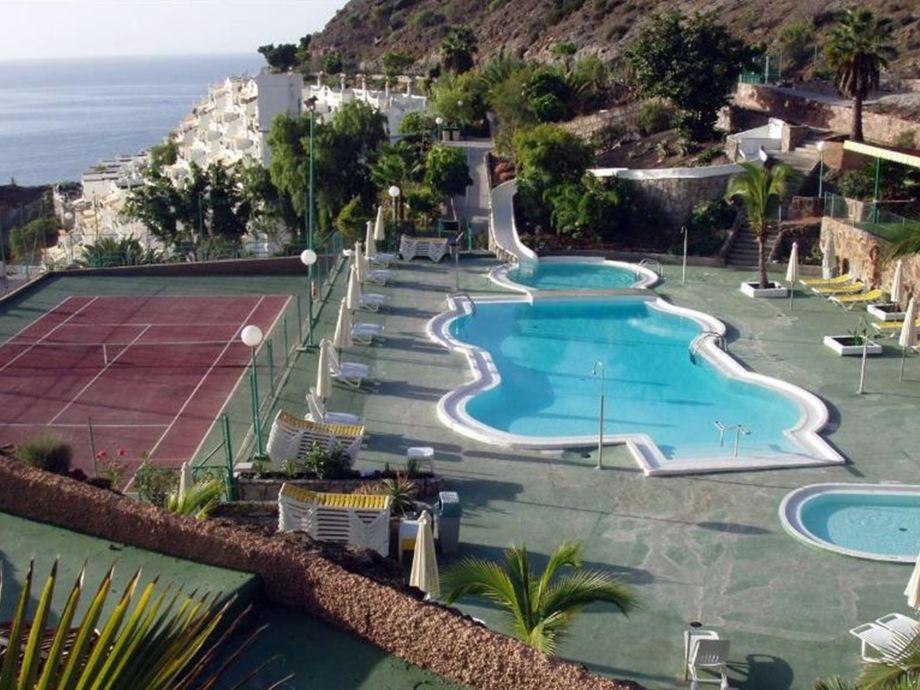 Ferienwohnung monse or gran canaria mog n playa del - Pool mit rutsche ...