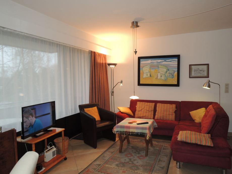 """Ausstattung """"Jan am Strand"""" Apartment 112"""