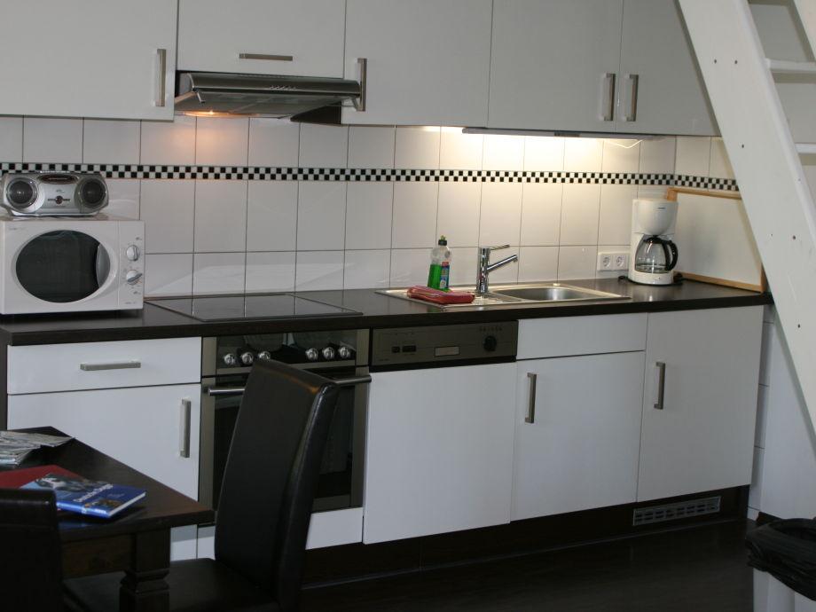 Wohnküche im Wohnzimmer integriert