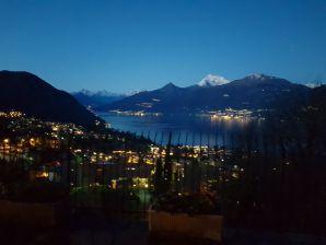 Ferienwohnung mit großer Terrasse und Seeblick