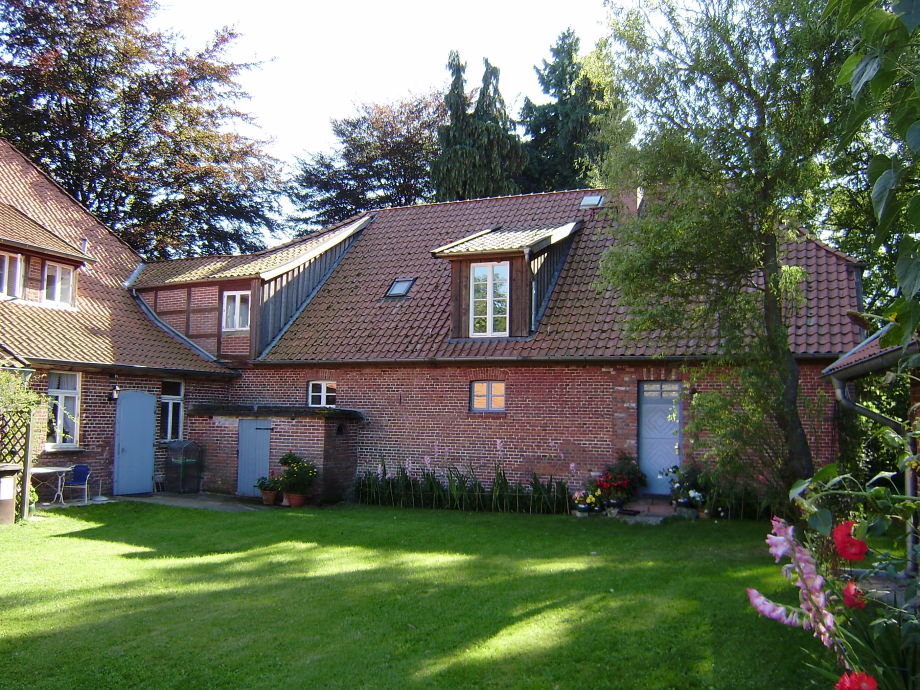 Innenhof mit Ferienwohnungs-Eingang