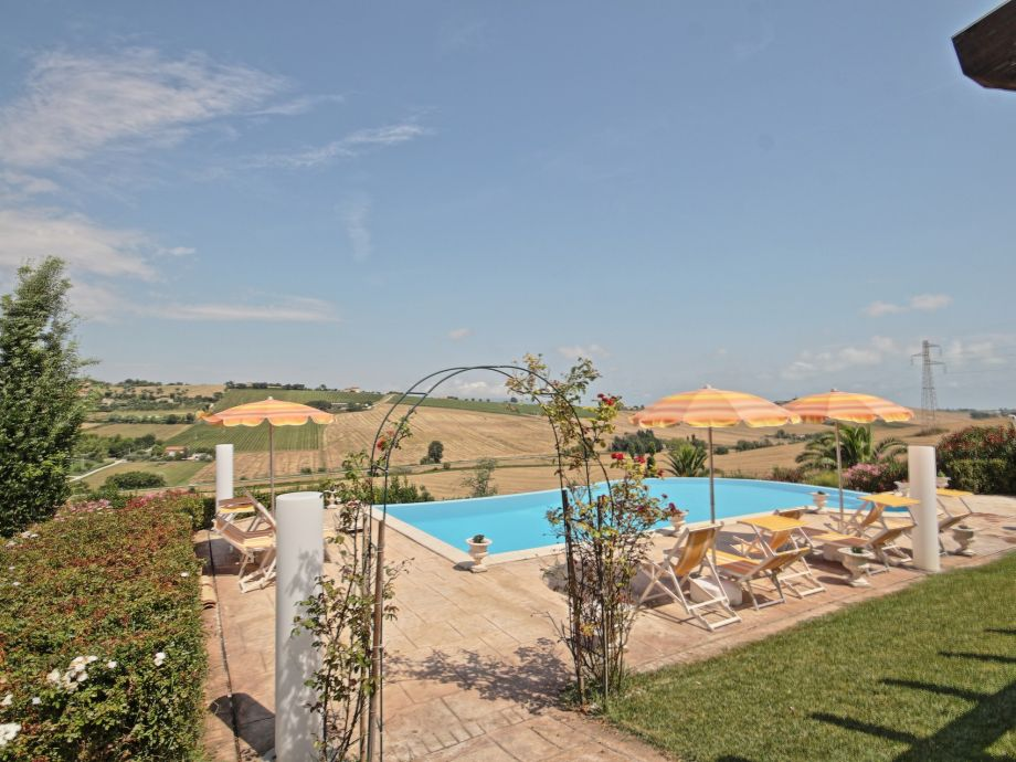 Villa und Garten
