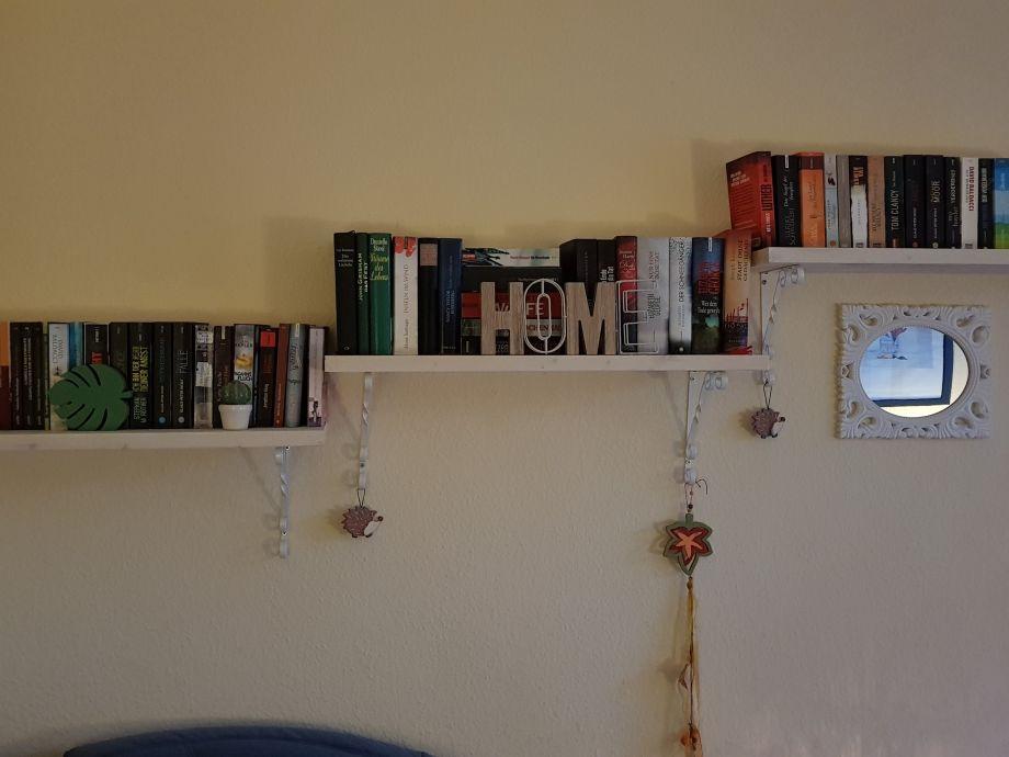 Ferienwohnung d nengarten meeresrauschen mecklenburgische - Bibliothek wohnzimmer ...