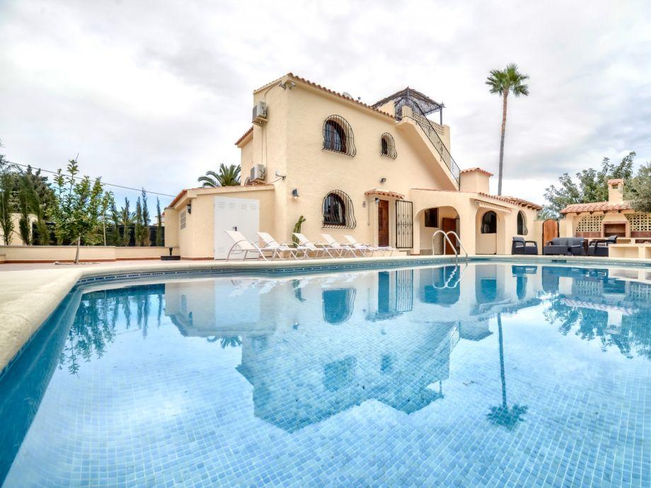 Außenaufnahme Villa Ebro - Cerca del centro de Calpe y sus playa