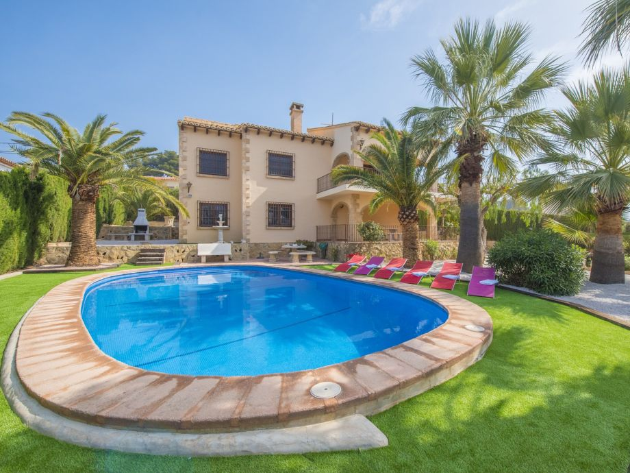Villa Fustera with pool