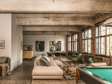 Holiday apartment Fabrikloft im Atelierhaus