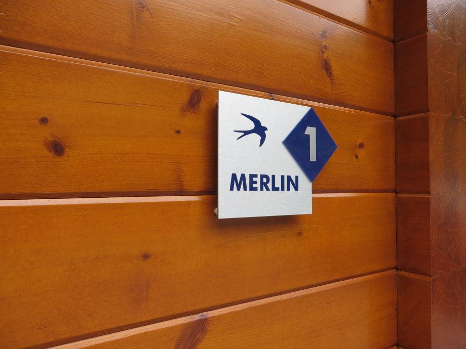 Ferienhaus Merlin - Waldterrasse 1 - Waldsee Rieden