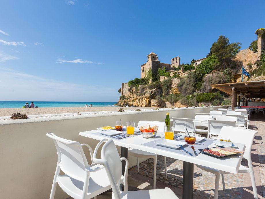 Tamarit Beach Resort - Restaurant am Strand