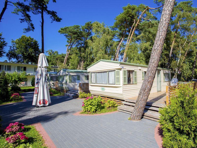 Ferienwohnung Charming campsite cottage
