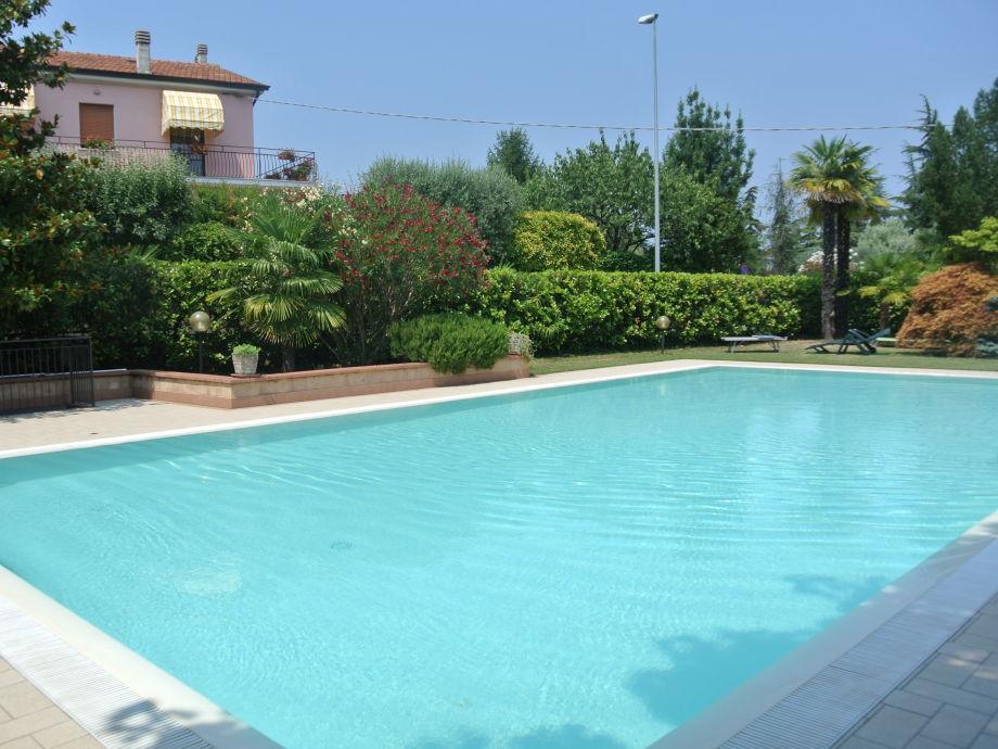 Ferienhaus casa vecchio mulino 2 italien gardasee for Pool und garten