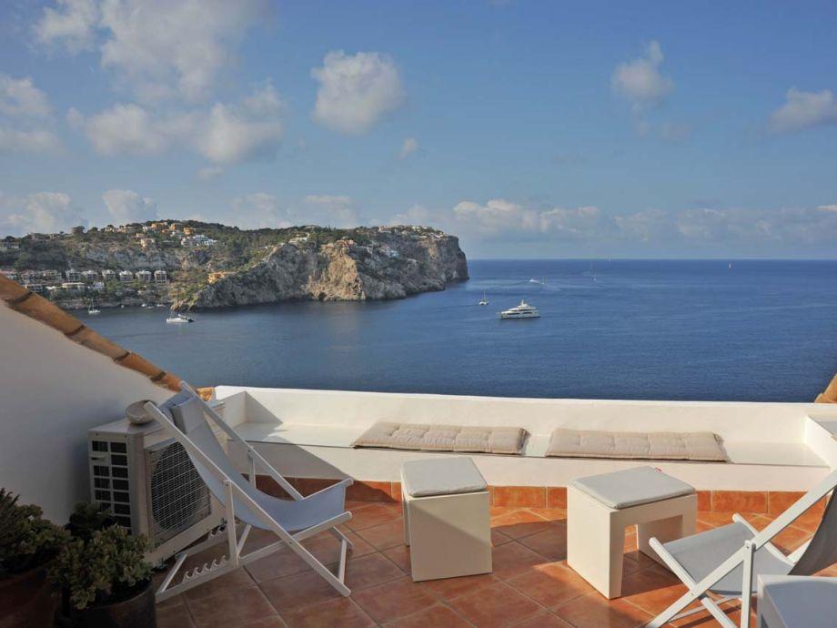 25 qm Terrasse mit fantastischem Meerblick