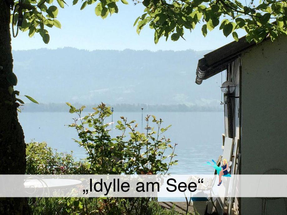 """Außenaufnahme Ferienwohnung """"Idylle am See"""""""