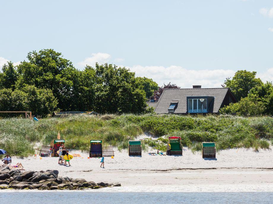 Kleines Strandhaus Stein