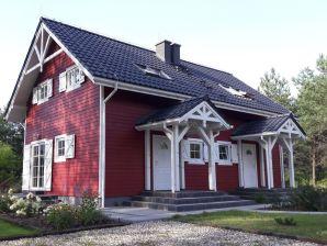 Ferienwohnung Piękny dom  w stylu skandynawskim zlokalizowany w sercu Mazur na skraju Puszczy Piskiej - dwa niezależne dwupoziomowe apartamenty 80 m2 każdy