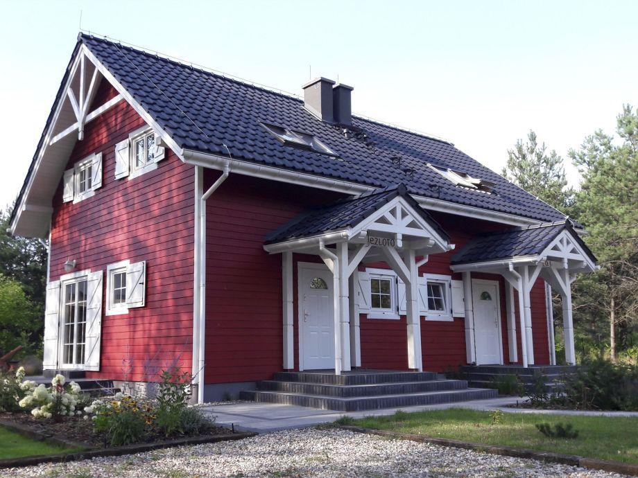 Außenaufnahme Scandinavian style house