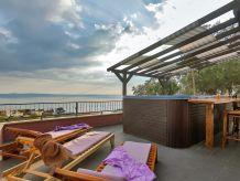 Ferienhaus Bonaca mit Whirlpool und Meerblick in Makarska