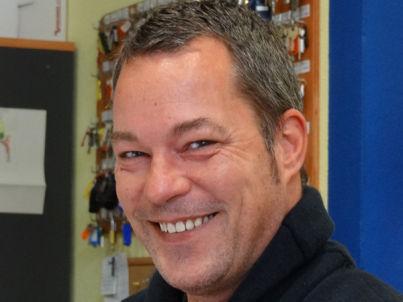 Your host Jan Morgenstern