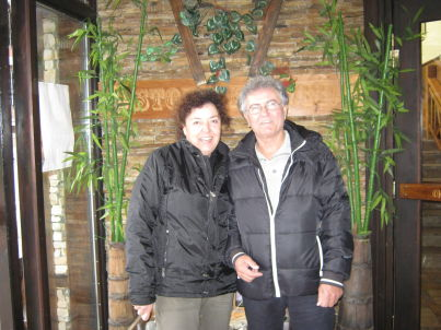 Your host Anna  und Vassilios Miroforidis