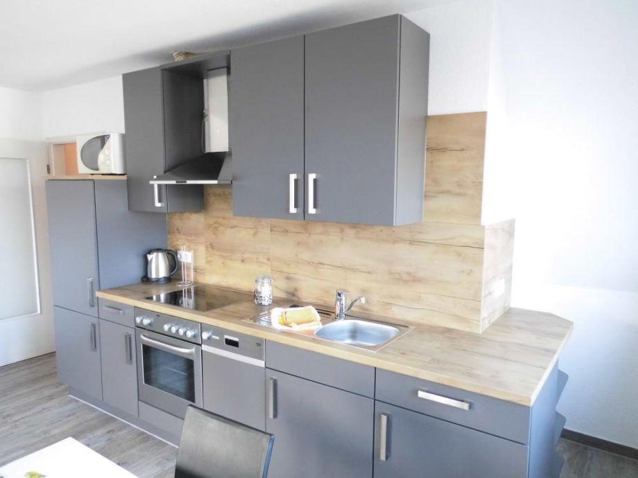 Küchenzeile Blau ~ ferienwohnung 4 blau im haus itjen am strand, sahlenburg firma appartementhaus kogge frau