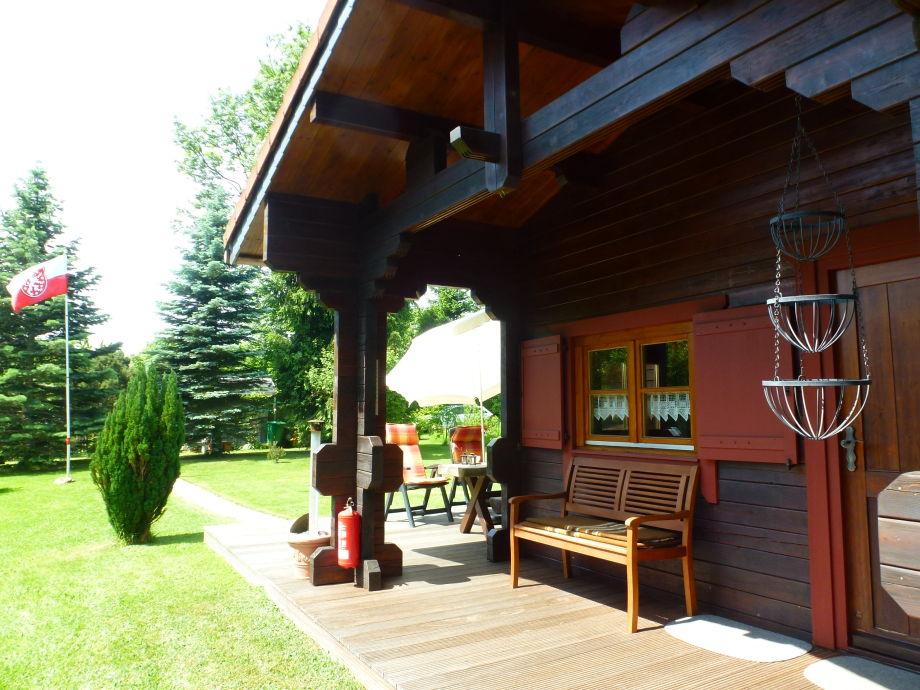 Hütte Eingangsbereich