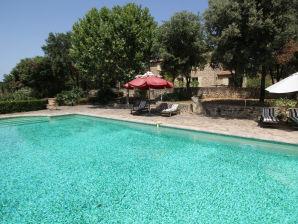 Holiday house Ferienhaus 0166 Mas des Collines 8P. Uzès, Gard