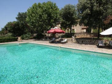 Ferienhaus 0166 Mas des Collines 8P. Uzès, Gard