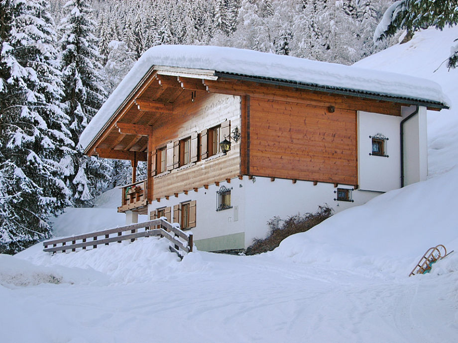 Ferienhaus Gaschurn, Winteransicht