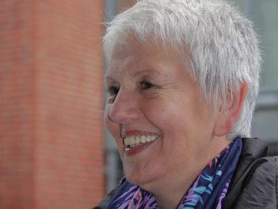 Your host Margitta Huelstrunk
