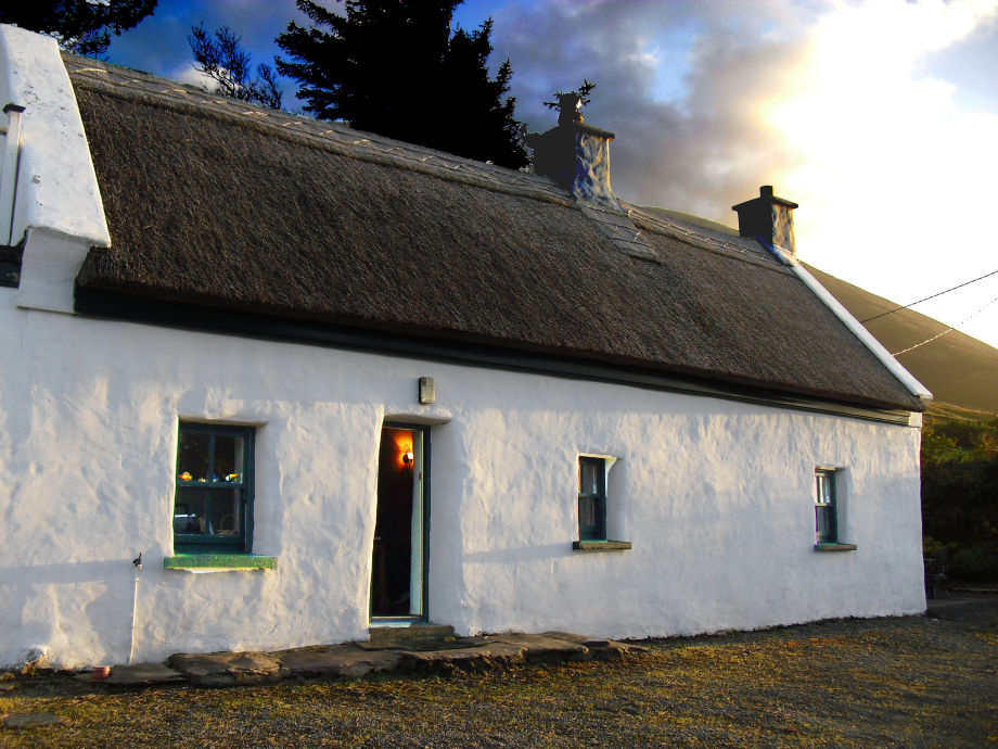 Roads Cottage, County Kerry, Ireland