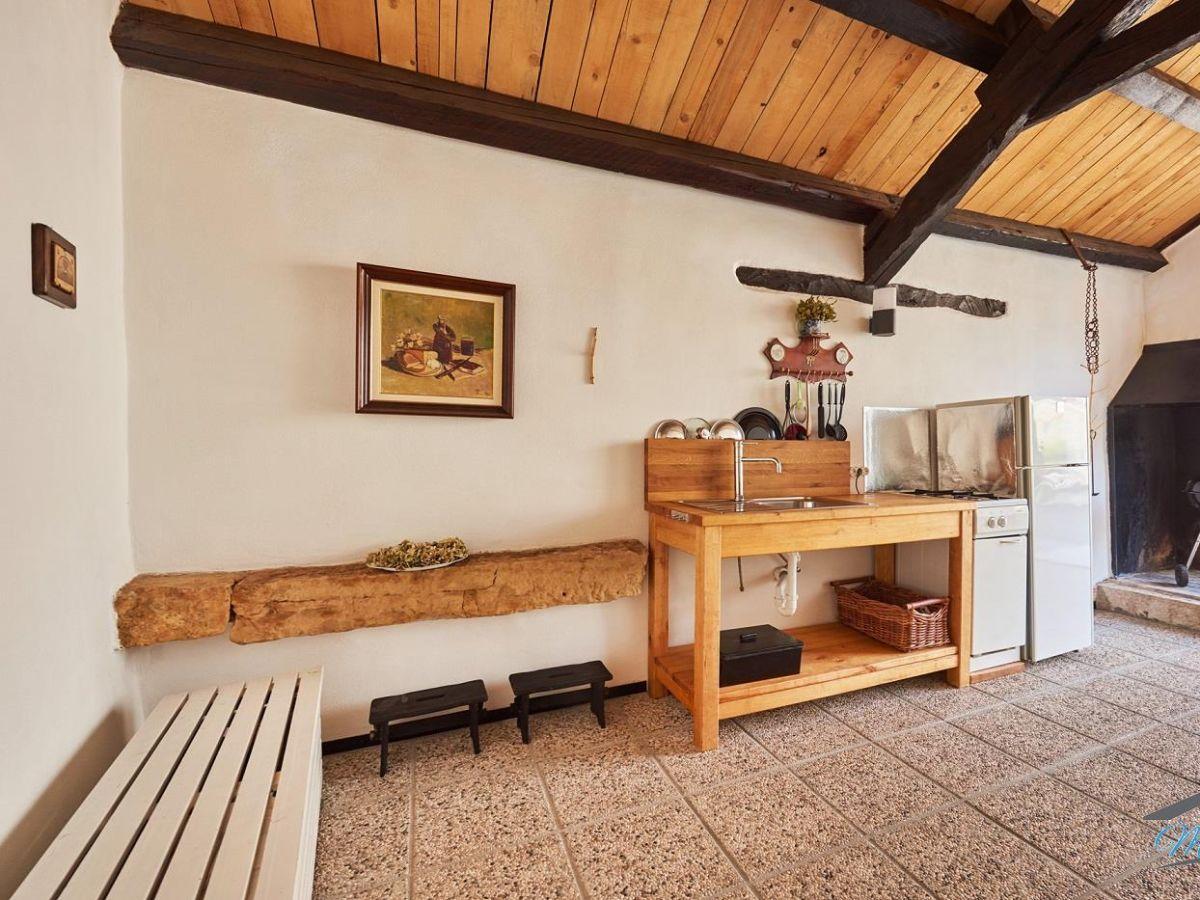 Sommerküche Living At Home : Ferienhaus ruzmarin sveti lovrec firma haus maritim frau